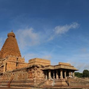 世界遺産!南インド様式の傑作寺院がある町タンジャヴール(タンジョール)