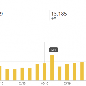 【運営報告】ブログ開始から5カ月後(Pro化後3.5カ月)の結果と今後の方針!
