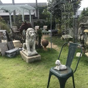 ガーデンオーナメント・置物のおしゃれなお店!ワンダーデコール・イングリッシュコテージを訪問!