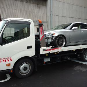 レクサスLS600 事故車両引き取り