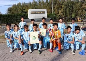 新U-11 第5回NEW TEAM SPRING CUP 4位トーナメント3位でした