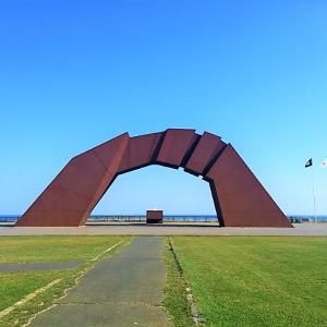 納沙布岬で「帰って来いよ」を唄う【北海道・根室市】