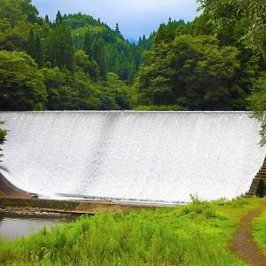 日本一美しくエロティックなダム「白水ダム」【大分県・竹田市】