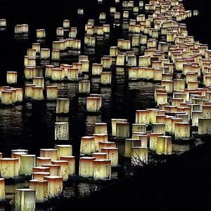 夏の終わりはちょっとせつない。永平寺大灯篭流し【福井】