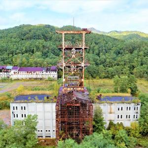 美しく儚き名前の「幾春別」と旧奔別炭鉱立坑櫓【北海道三笠市】