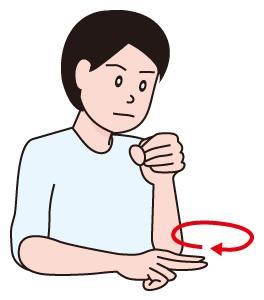 手話 ウイルス virus