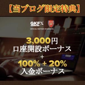 海外FX『GKFX Prime』特別限定!『入金100%+20%ボーナス』をもらう手順を簡潔解説