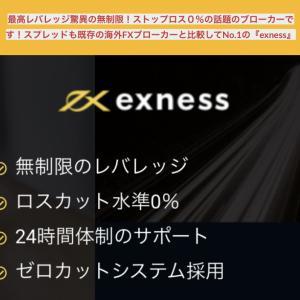 海外FX『exness』現行最強のブローカー!無限のレバレッジ!
