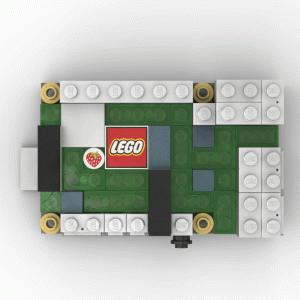 LEGO®モデリングソフト[Studio]でRaspberryPi4を再現
