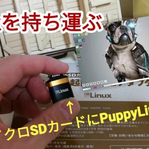 日経Linux付録USBアダプターにBionicpup64 8.0(PuppyLinux)を入れてポータブルLinuxを作りました