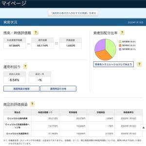 iDeCo 6ヶ月の運用成績