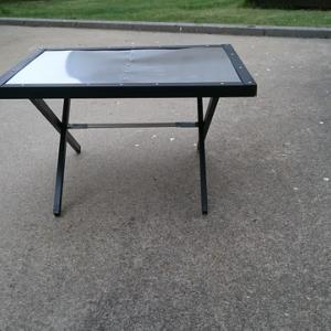 DIY 100均の材料で焚火テーブルを作る