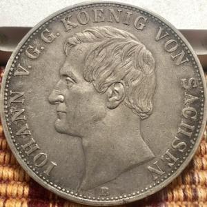 初めて入手した2 Thaler銀貨