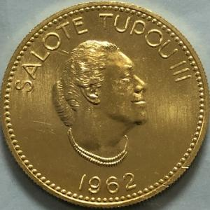 トンガの金貨