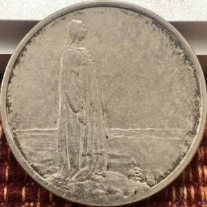 ノルウェー銀貨、この女性は誰?