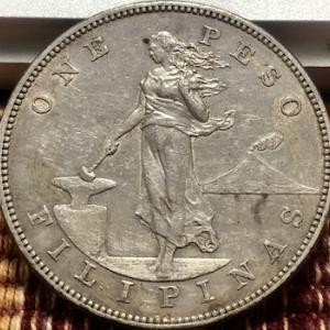 アメリカ統治時代のフィリピン銀貨