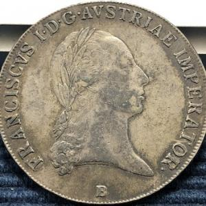 オーストリア帝国皇帝3代の銀貨