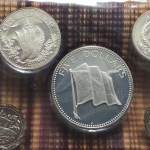 バハマ銀貨プルーフセット