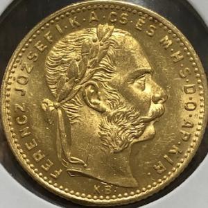 ハンガリーの金貨・銀貨