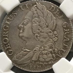 英国のマイナー銀貨、シリング銀貨