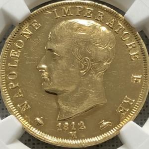 ナポレオン王国の金貨