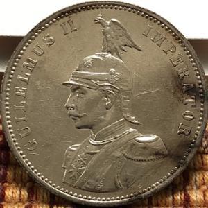 ドイツ・イタリアが植民地で発行した銀貨