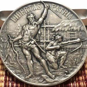 1899 Switzerland Yverdon Shooting Festival Medal