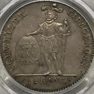 1816 Switzerland 4 Franken