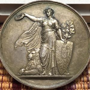 1875 German Stuttgart Shooting Festival Medal