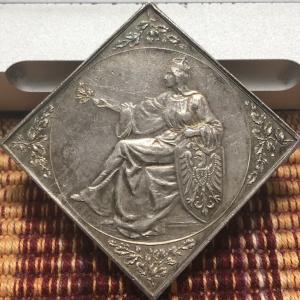 1900 German Dresden Shooting Festival Medal
