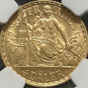 Sexy Gold Coin