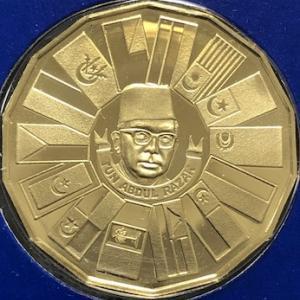 マレーシアの金貨