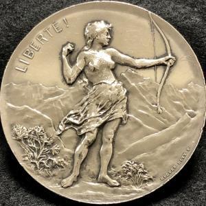 1896 Switzerland Geneva Shooting Festival Medal