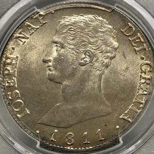 ナポレオン・ボナパルト兄のスペイン銀貨