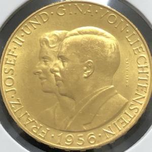 リヒテンシュタイン中型金貨の謎