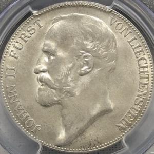 リヒテンシュタインの大型銀貨、もう一枚