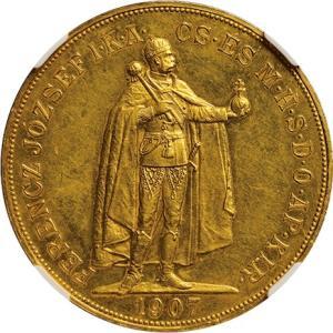ハンガリー100コロナ金貨、オリジナルとリストライク