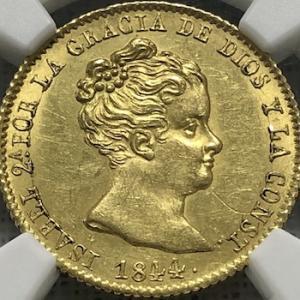 イザベル2世金貨、もう一枚