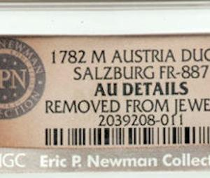 Eric P. Newman Collection