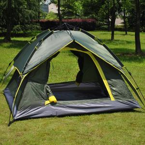 長期キャンプでテント生活を体験したい