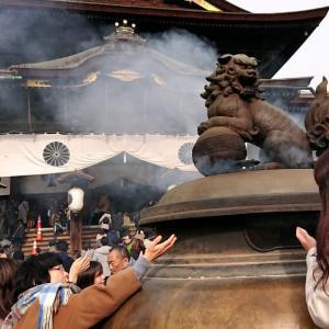権堂アーケード街を散策しながら善光寺へ初詣・・・ ☆新春恒例 「初茶会」送迎担当の仕事始め・・・(笑)