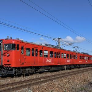 しなの鉄道 115系 コカ・コーララッピングを追って・・・ ☆まだ、ちゃんと撮ったことがなかった。