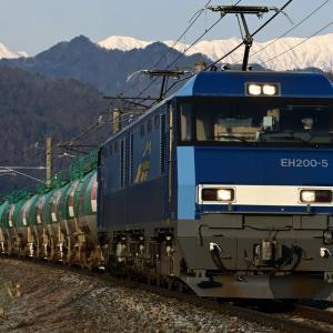 早春をゆく、EH200 BlueThunderを撮る!・・・ ☆貨物列車を撮るのが楽しくなっちゃった(笑)