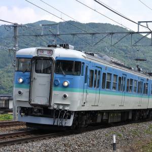 しなの鉄道 115系長野色 快速・・・ ☆試運転を終えて、7月10日から運行してます。