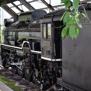 D51 787号 蒸気機関車・・・(御代田町) ☆まるで、今でも現役のような感じに手入れされてます。