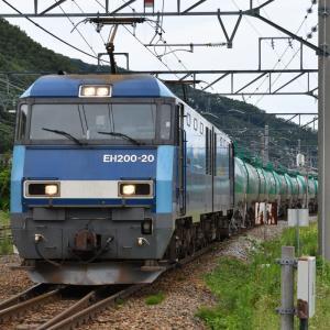 EH200 BlueThunder 貨物列車のすれ違いポイントを探してみました・・・ ☆すれ違いのことを、「離合」ともいうらしい?