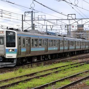 篠ノ井線 臨時快速 211系6両編成・・・? ☆