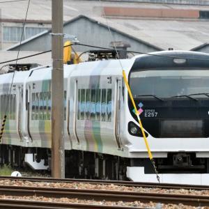 長野総合車両センターの偵察? と、鉄道のある風景(安茂里)編・・・ ☆山の上からの俯瞰もなんかいいですね。