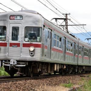 引退間近! 長野電鉄3600系L2編成を撮りました。 ☆引退に伴うイベント列車として運行されました。