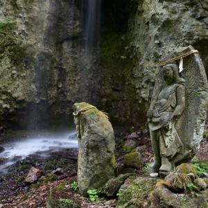 菱野温泉郷 不動の滝・・・ ☆いろいろ用事を済ませていたら夕方になってしまった 6月8日